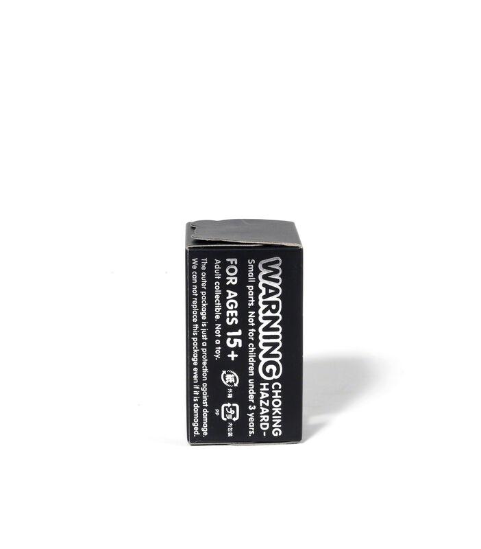KAWS, 'BEARBRICK COMPANION (ORIGINALFAKE) 100 % (Black)', 2010, Sculpture, Painted cast vinyl, DIGARD AUCTION