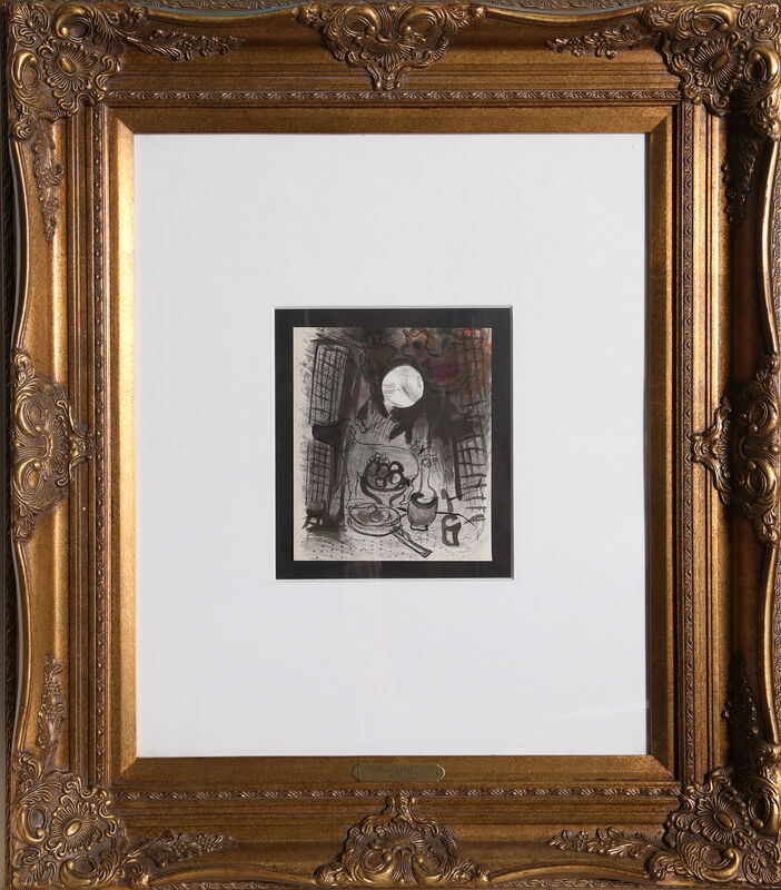 Marc Chagall, 'Nature Morte Brune from Lassainge', 1957, Print, Lithograph, RoGallery