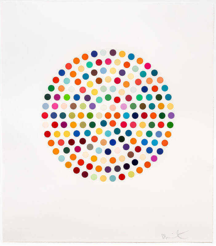 Damien Hirst, 'Cephalothin', 2007, Print, Spot-Eching, Leslie Sacks Gallery