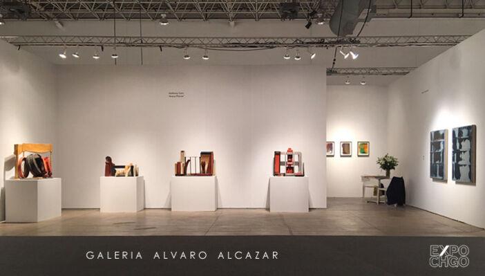 Álvaro Alcázar at EXPO CHICAGO 2016, installation view