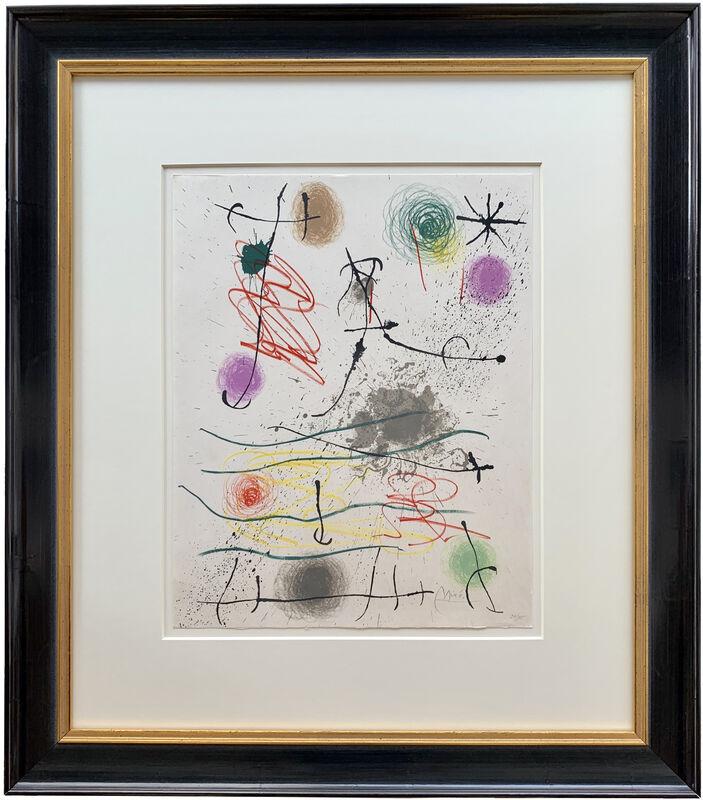 Joan Miró, 'Frontispice (Quelques fleurs pour des amis)', 1964, Print, Lithograph, Galerie Raphael