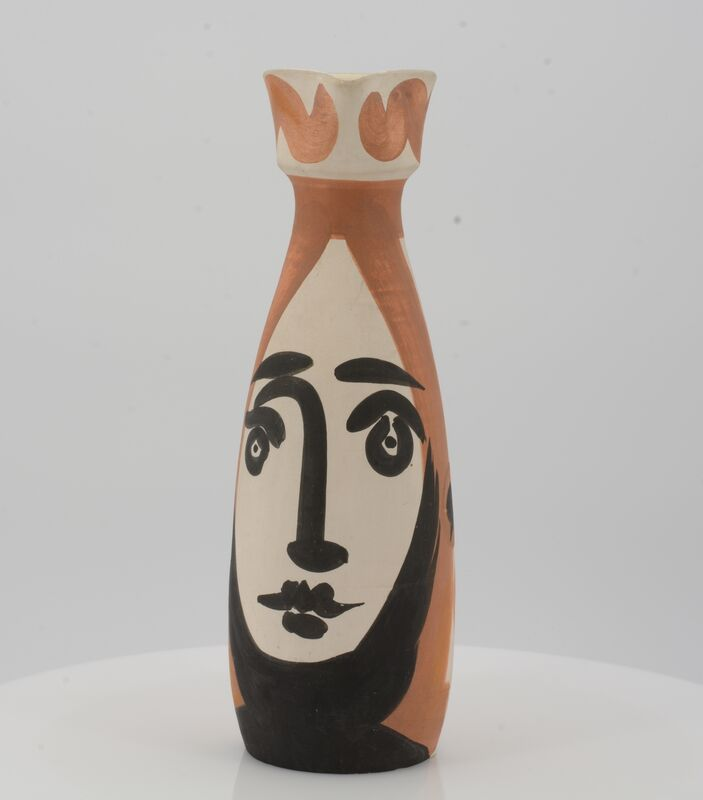 Pablo Picasso, 'Face', 1955, Design/Decorative Art, White earthenware clay, polychromed and glazed inside, Van Ham