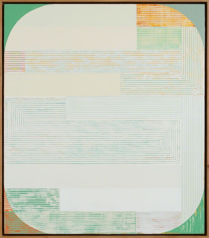 Sunny Taylor, 'Oval Assembled', 2016, Painting, Acrylic on panel, Julie Nester Gallery