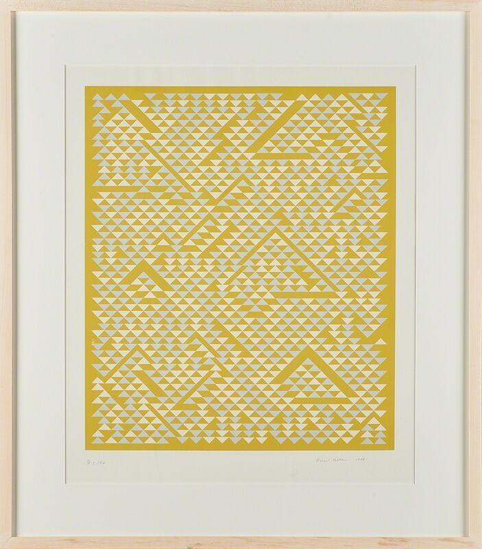 Anni Albers, 'Untitled', 1968, Print, Screenprint in colors (framed), Rago/Wright