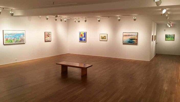 Nell Blaine: Selected Works, installation view
