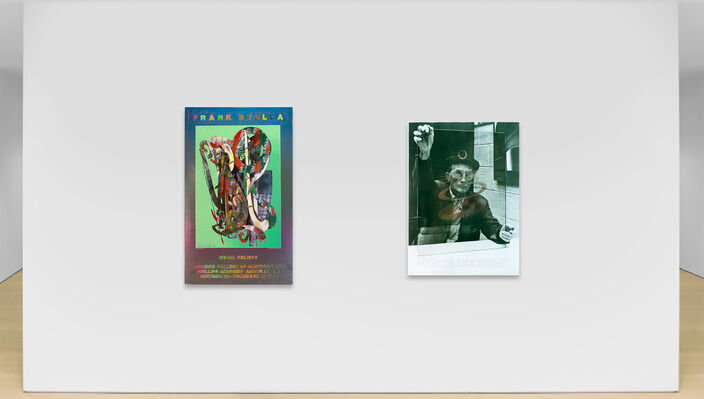 Off The Wall: Vintage posters from Duchamp to Hockney, installation view