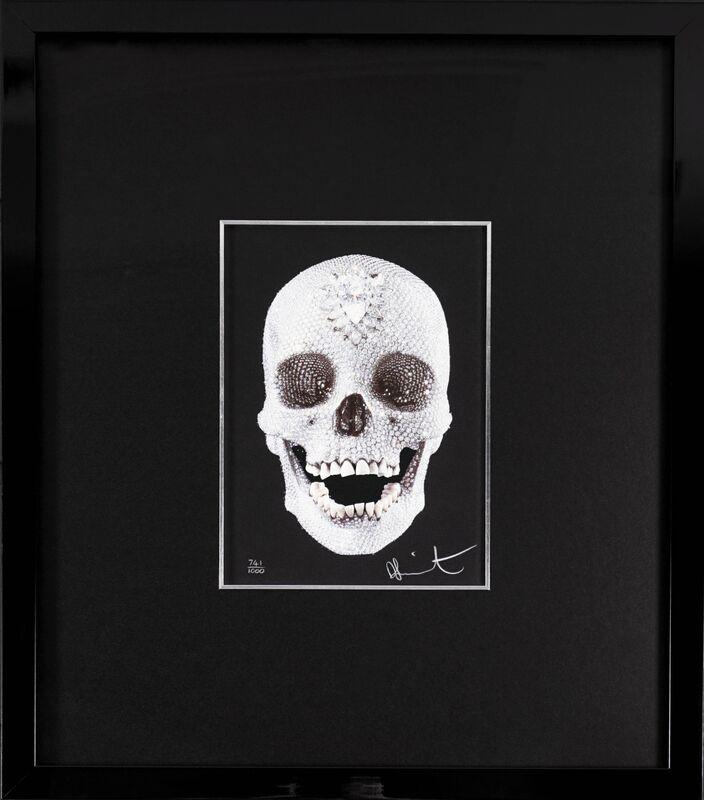 Damien Hirst, ''For The Love of God' Skull (Diamond Dust)', 2007, Print, Silkscreen, Diamond Dust, Arton Contemporary