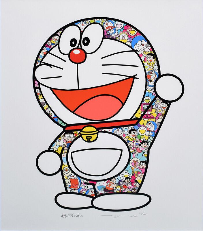 Takashi Murakami, 'Doraemon: Here We Go!', 2020, Print, Silkscreen, Gallery Suiha