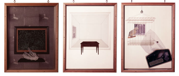 Mel Chin, 'Homage to Cornell, after Mallarmé: Parts 1 – 3', 1976