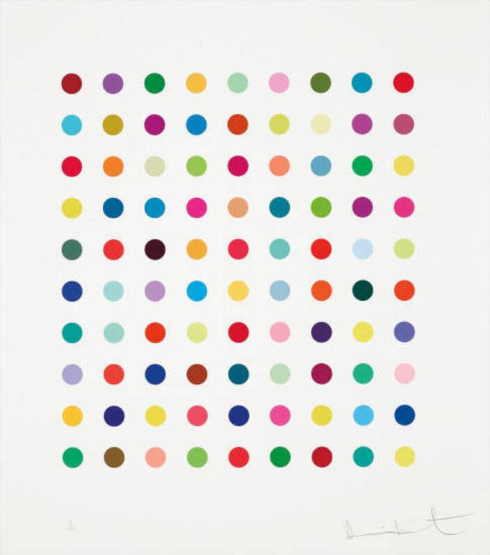 Damien Hirst, 'Lanatoside B', 2011, Print, Silkscreen, Vogtle Contemporary