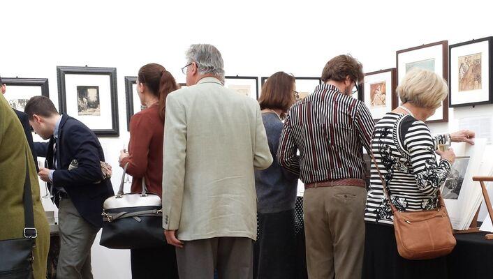 Sarah Sauvin at IFPDA Fine Art Print Fair Online Spring 2020, installation view