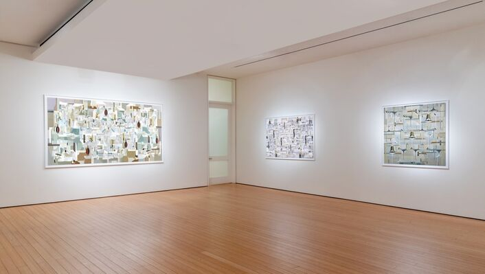 James Kennedy: Notations, installation view