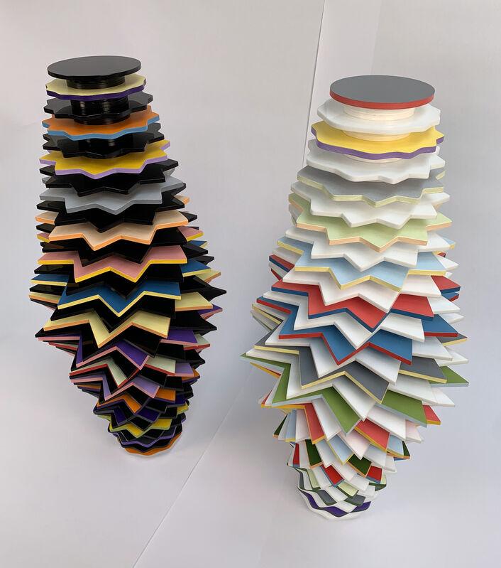 Peter Monaghan, 'Transform White', 2021, Sculpture, Mixed Media, Gormleys Fine Art