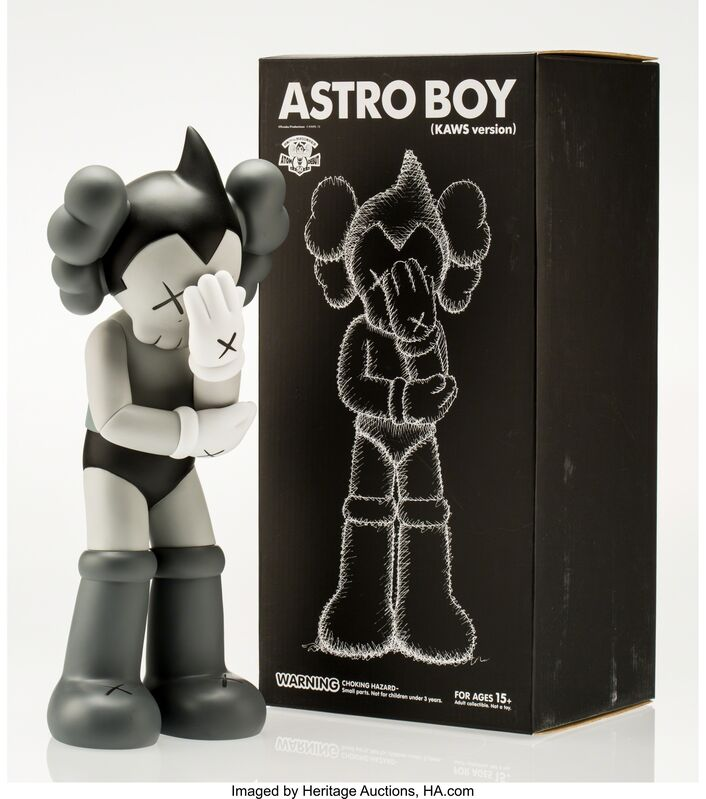KAWS, 'Astro Boy-Kaws Version (Grey)', 2013, Other, Painted cast vinyl, Heritage Auctions