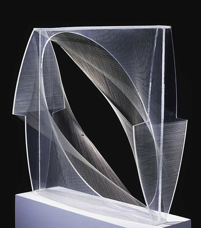 Naum Gabo, 'Linear Construction in Space No. 1', 1943, Sculpture, Lucite with nylon thread, Phillips Collection