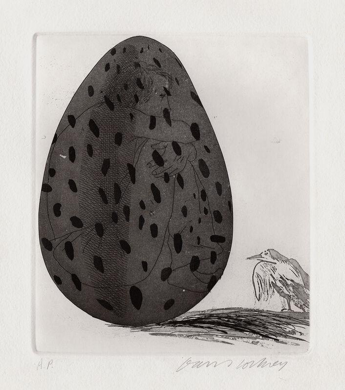 David Hockney, 'The Boy Hidden in an Egg ', 1969, Print, Etching, Gerrish Fine Art