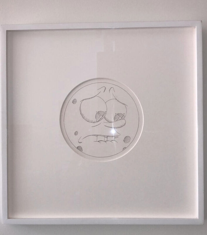 KAWS, 'Untitled (Sponge Bob)', 2010, Drawing, Collage or other Work on Paper, Pencil on paper, Carmichael Gallery