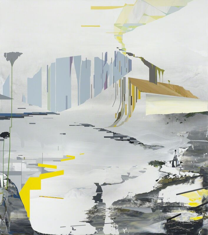 William Swanson, 'Terraform Floodplain', 2014, Painting, Acrylic on panel, Eleanor Harwood Gallery