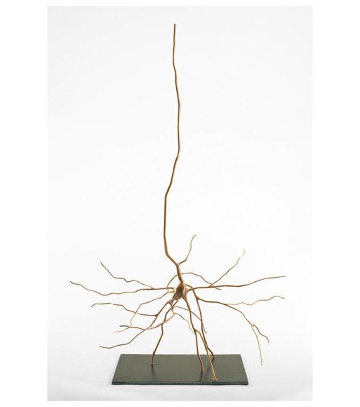 Geoffrey Dubinsky, 'Cajal's Pyramid', 2014, Sculpture, Bronze, Seraphin Gallery