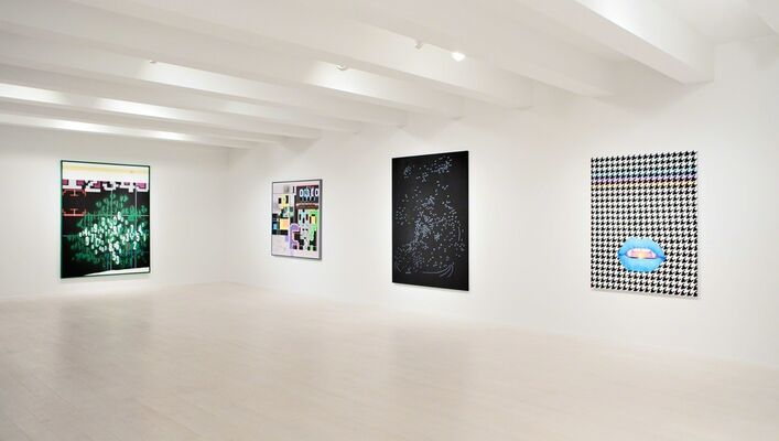 Between Two Worlds, installation view