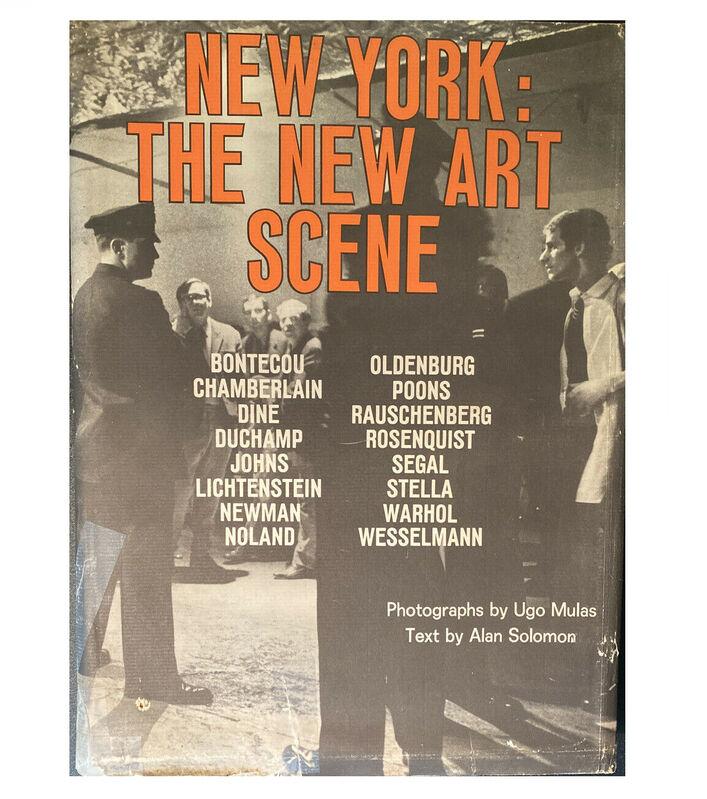 "Andy Warhol, '""New York: The New Art Scene"", First Edition, First Printing by Ugo Mulas & Alan Solomon, ', 1967, Ephemera or Merchandise, Print, VINCE fine arts/ephemera"