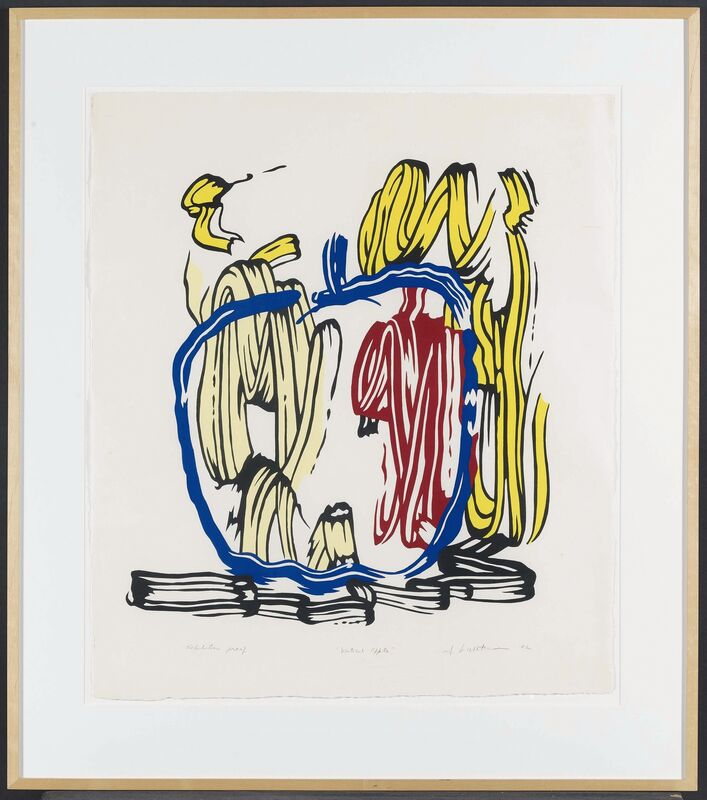 Roy Lichtenstein, 'Seven Apple Woodcuts Series', Print, Seven colour woodcuts on Iwano Kizuki Hosho paper, Van Ham