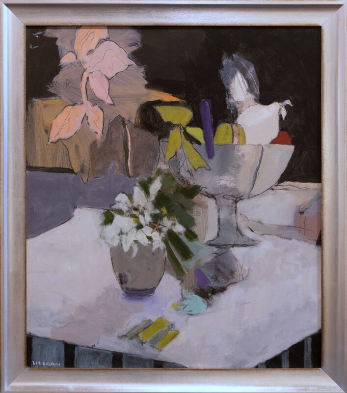 Liz Gribin, 'Fruit and Flowers', ca. 2017, Painting, Acrylic on canvas, Lily Pad West