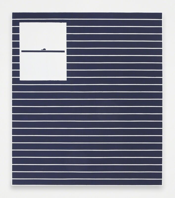 Andrew Gbur, 'House Painting (blue)', Painting, Vinyl base paint on canvas, The Still House Group
