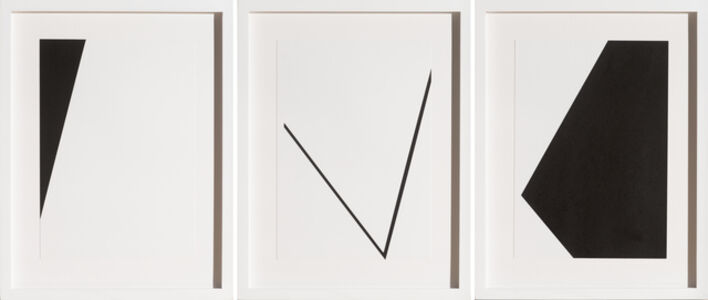 George Thiewes, 'Untitled E (triptych)', 2015