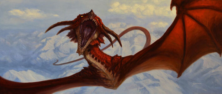 Matthew Stawicki, 'Dragon Flight', 2015