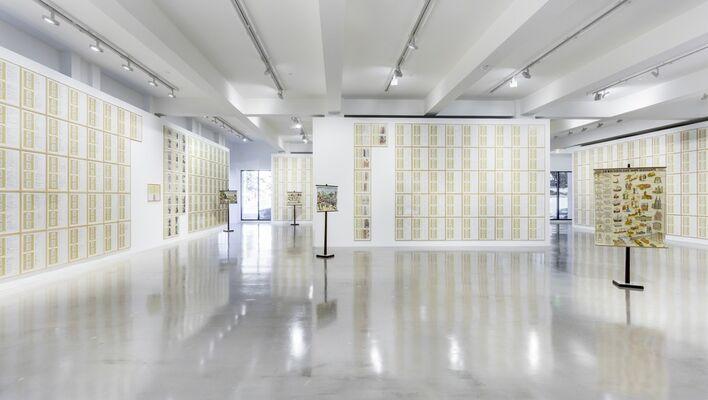 Hanne Darboven, installation view