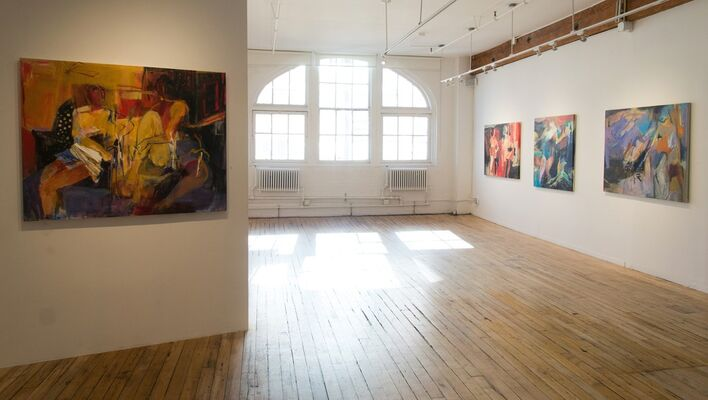 Crime and Passion, installation view
