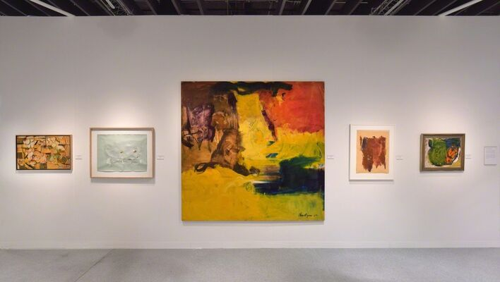 Hollis Taggart at The Armory Show 2019, installation view