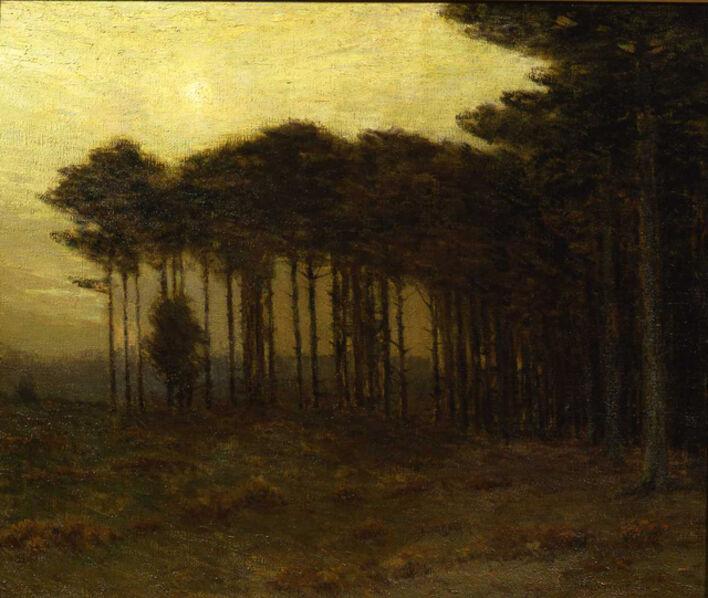 Charles Warren Eaton, 'The Strip of Pines', 1908