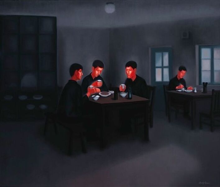 Pan Dehai, 'The Past- Lunch in the Canteen ', 2012-2013