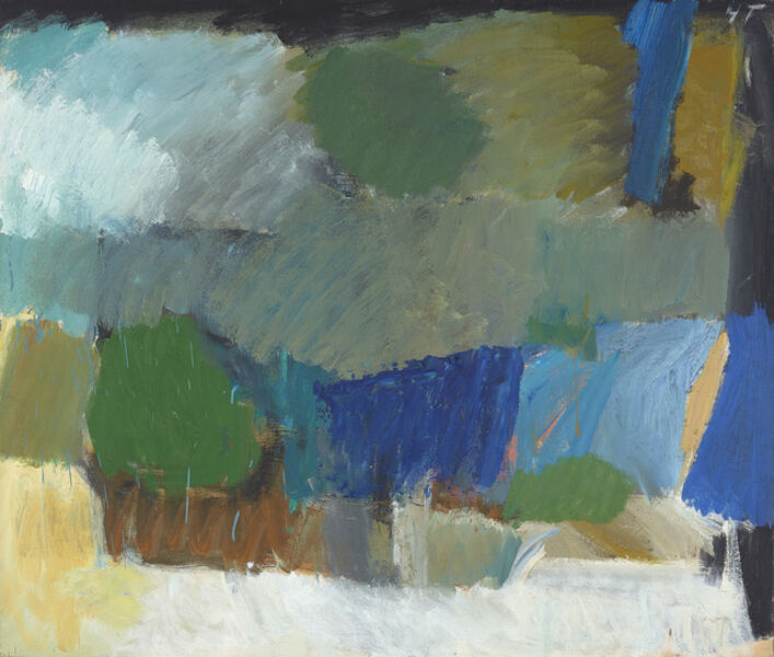 Yvonne Thomas, 'Highway II', 1957