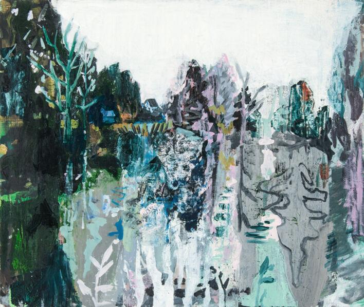 Allison Gildersleeve, 'Rorschach on the Cove', 2018