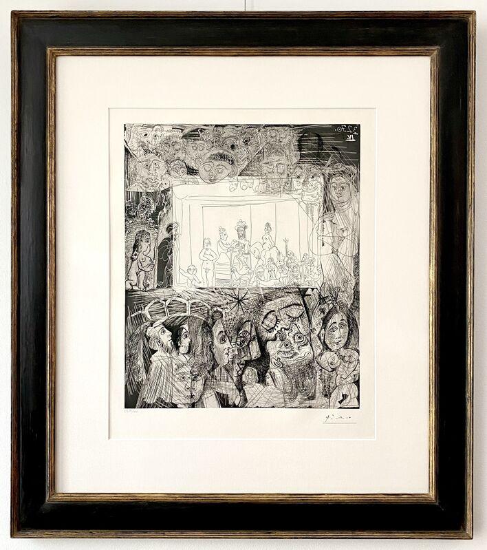 Pablo Picasso, 'Ecce Homo, d'Après Rembrandt', 1970, Print, Drypoint, etching, aquatint and scraper printed on Rives wove paper, Van der Vorst- Art