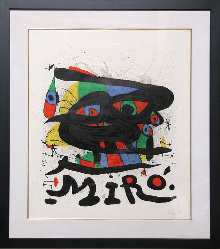Joan Miró, 'Walker Art Center', 1971, Print, Lithograph on Arches paper, RoGallery