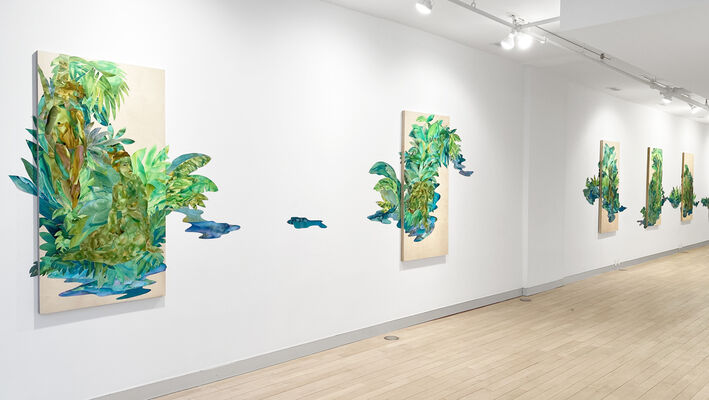 History Reclaimed: Suchitra Mattai and Adrienne Elise Tarver, installation view