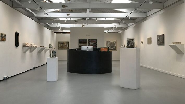 12th Annual Art of the Book Exhibition, installation view