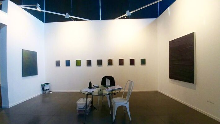 Galería Combustión Espontánea at Estampa Contemporary Art Fair 2016, installation view