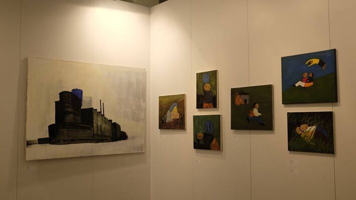 Project ArtBeat at Contemporary Istanbul 2014, installation view