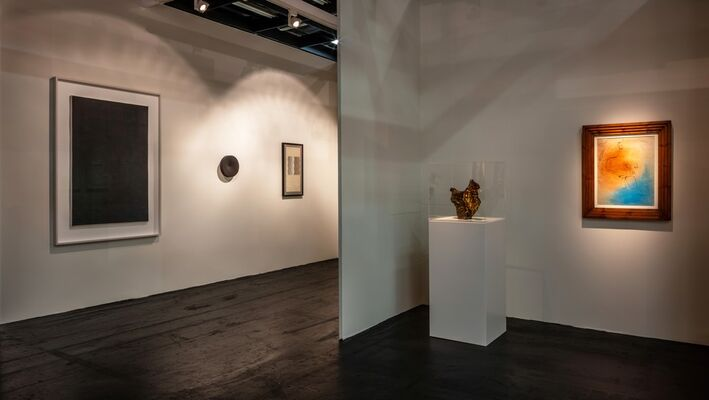 Dierking at Art Cologne 2018, installation view