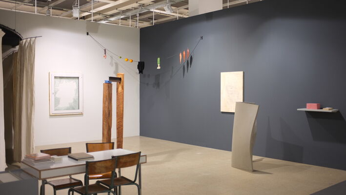 Galerie Jocelyn Wolff at Art Basel 2014, installation view