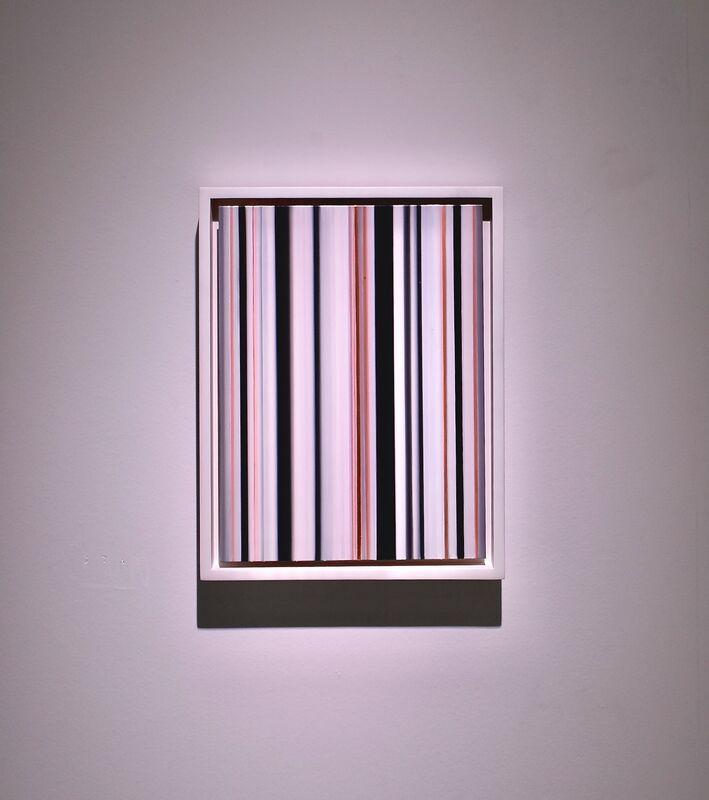 Cornelia Thomsen, 'Stripes Nr. 136', 2018, Painting, Oil on copper, √K Contemporary