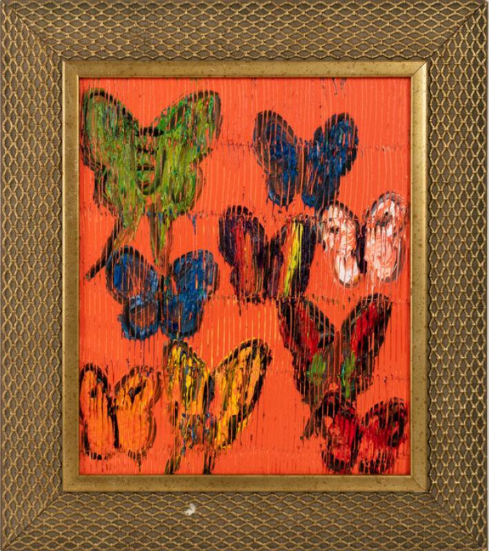Hunt Slonem, 'Fratillery', 2021, Painting, Oil on wood, Galerie Schimming