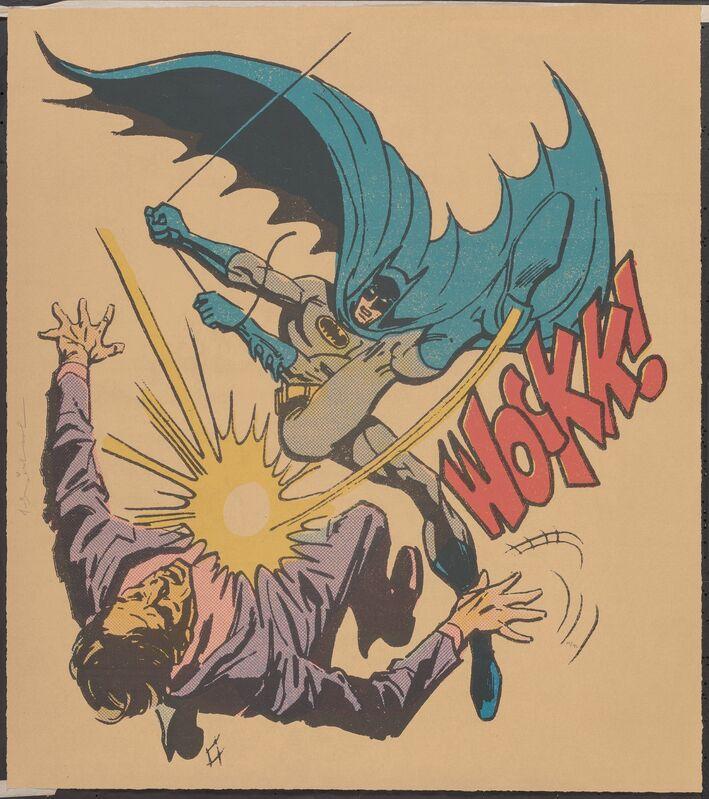 Mr. Brainwash, 'Bat-Wockk!', 2019, Print, Screenprint in colors on Archival Art paper, Heritage Auctions