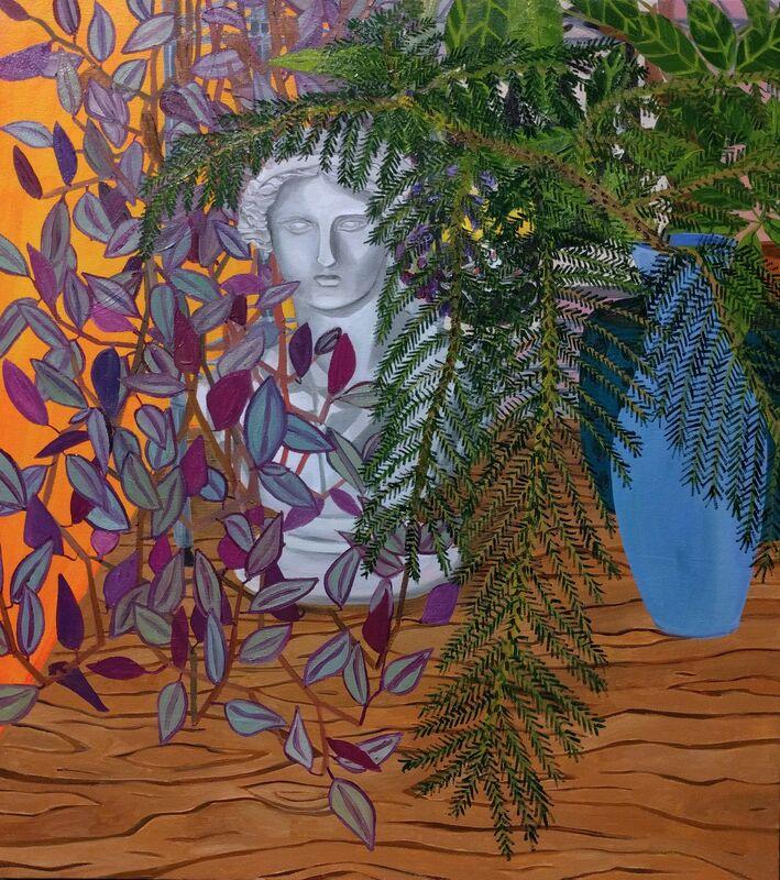 Anna Valdez, 'Garden Variety Venus', 2016, Painting, Oil on canvas, Hashimoto Contemporary