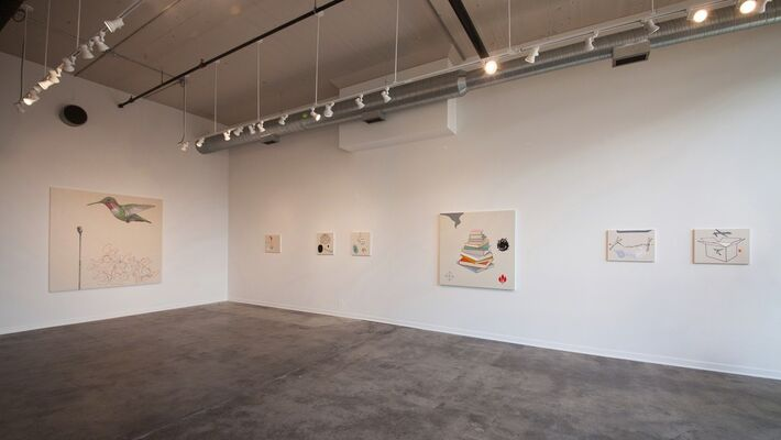 Reliable Data, installation view